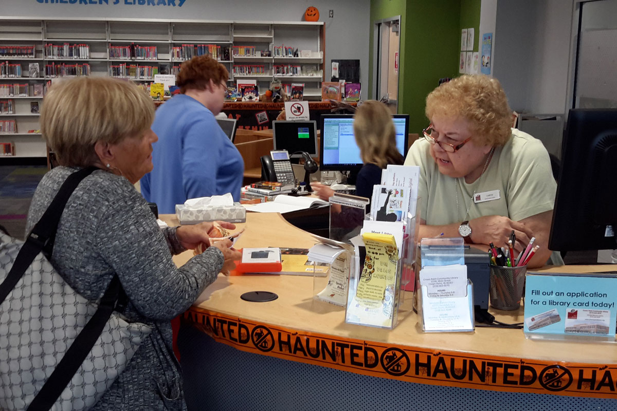 Friends of the Crown Point Community Library Hold 2017 Meet and Greet