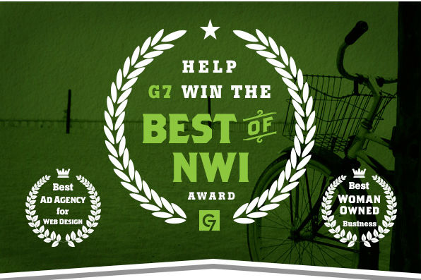 Help Group 7even Win the Best of NWI Award!