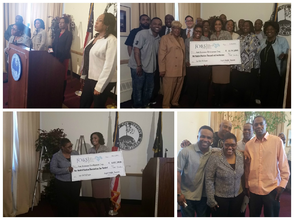 The JOBS Fund Grants $120,000 to City of Gary, Indiana  for Job Training and Employment