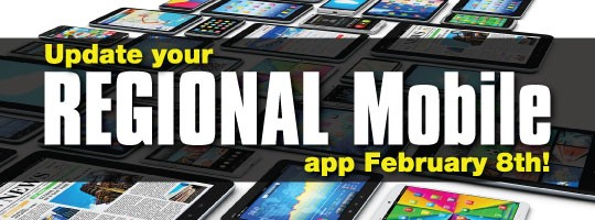 Get the Updated REGIONAL Mobile App Now
