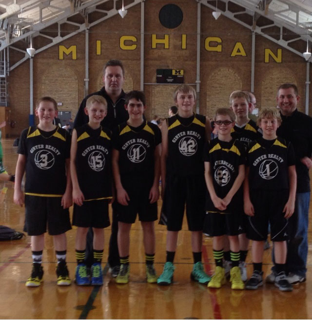 6th Grade Ginter Reality Hornets Finish Undefeated, April 2014