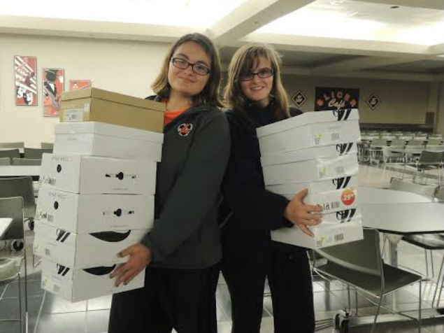 La Porte High School Girl Reserves Continues Mission of Helping Others
