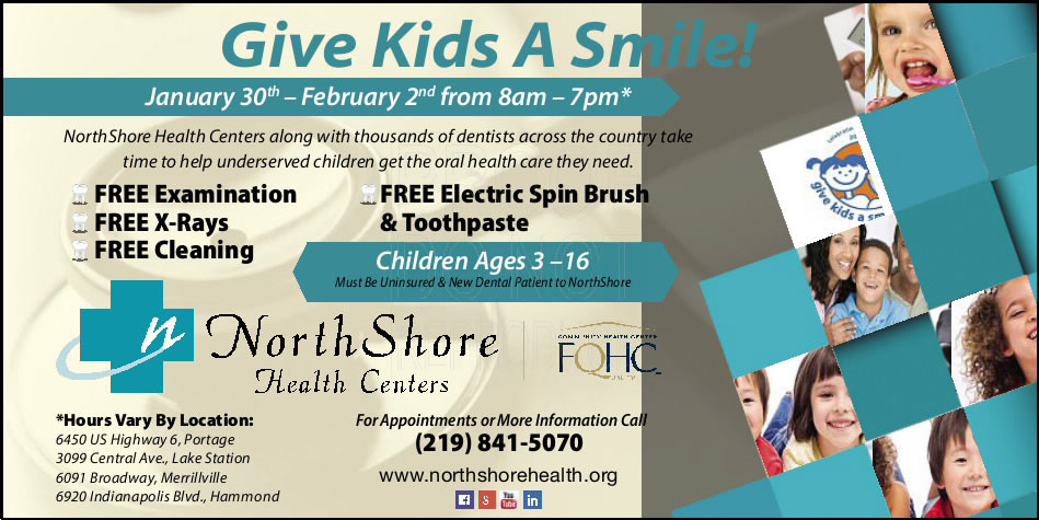 Give Kids A Smile with NorthShore Health Centers