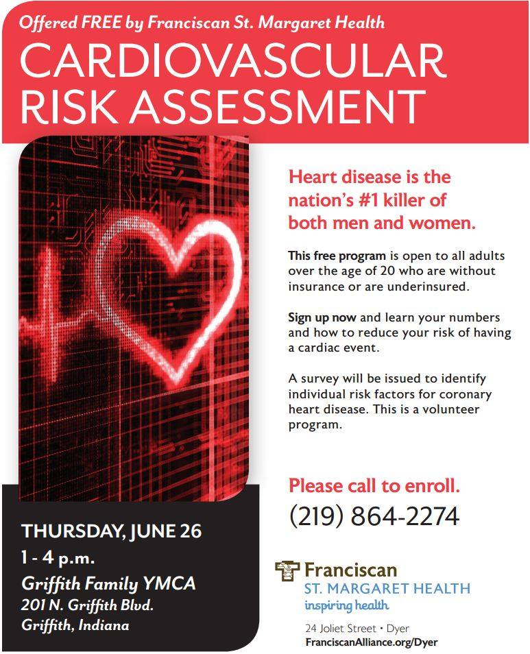 Franciscan St. Margaret Health Offers Free Cardiovascular Risk Assesment
