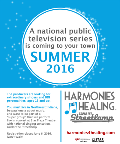 """Harmonies For Healing: Under the Streetlamp Looking to Expand """"Super Group"""""""