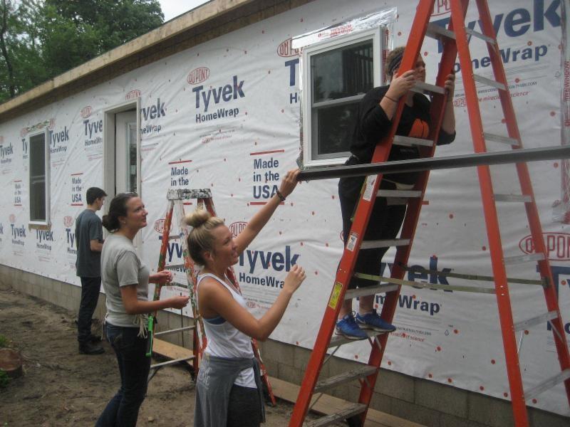 Habitat-for-Humanity-of-La-Porte-County-2017-Build-in-Michigan-City-Progressing-Nicely