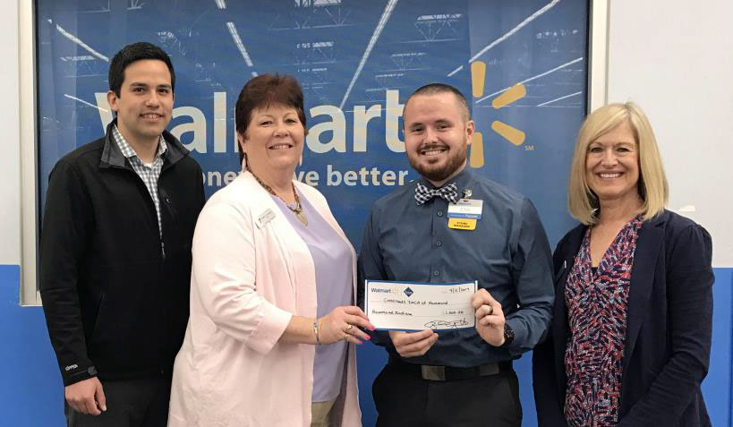 Hammond Family YMCA Receives Gift from Walmart