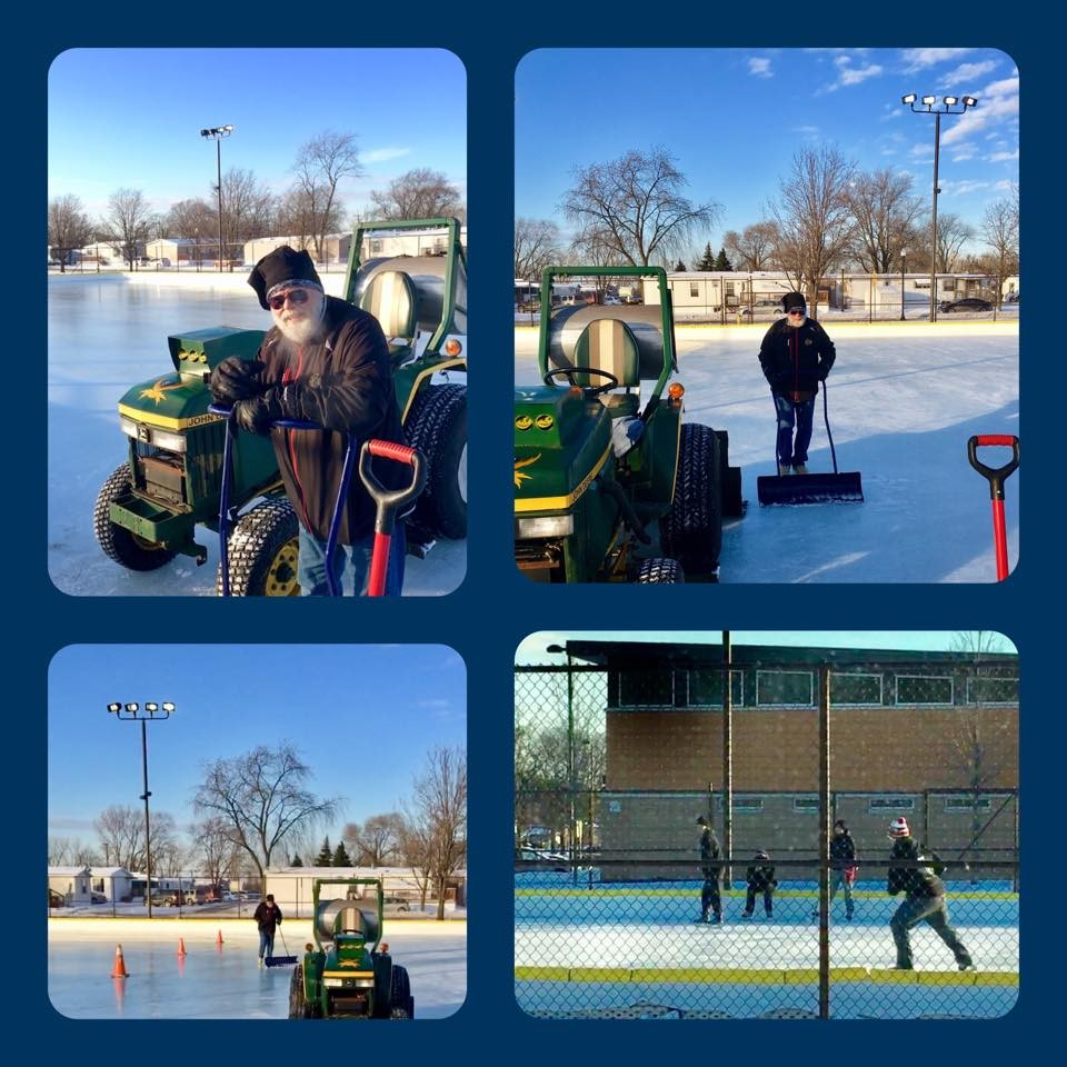 Hammond's Pulaski Park Ice Rink Now Open