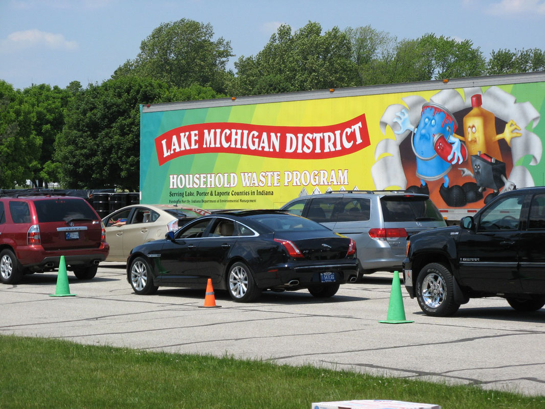 Household Hazardous Waste Collection Event Scheduled in Chesterton on July 12, 2014