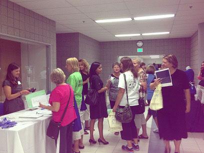 Lake Central Schools Host Health Fair for Staff