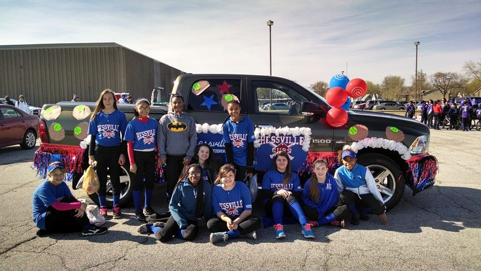 Hessville Little League's 62nd Annual Little League Parade on May 2