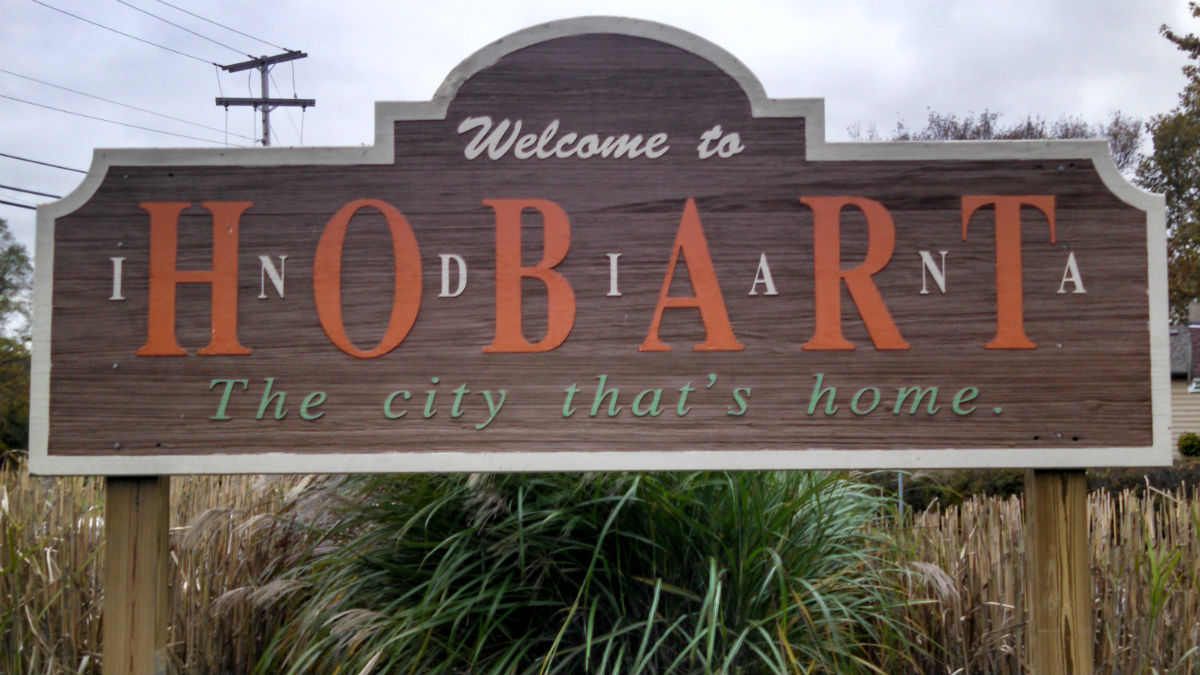 hobart-city-sign
