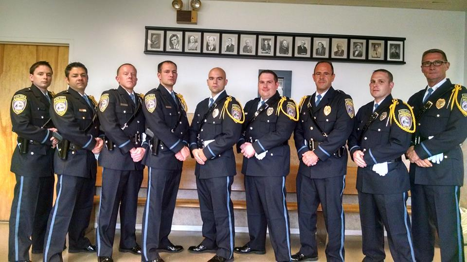 Hobart Police Department Introduces Hobart Police Honor Guard Team