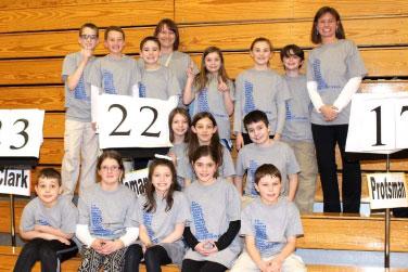Homan Math Bowl Team Excels in 2015
