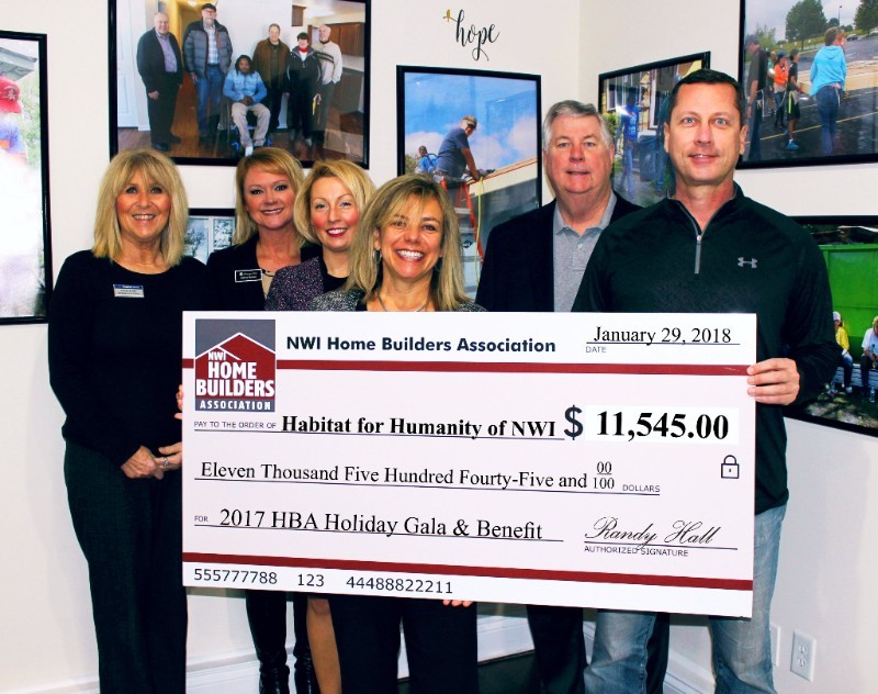 Home Builders Association Selects Habitat for Humanity as Their Charity of Choice