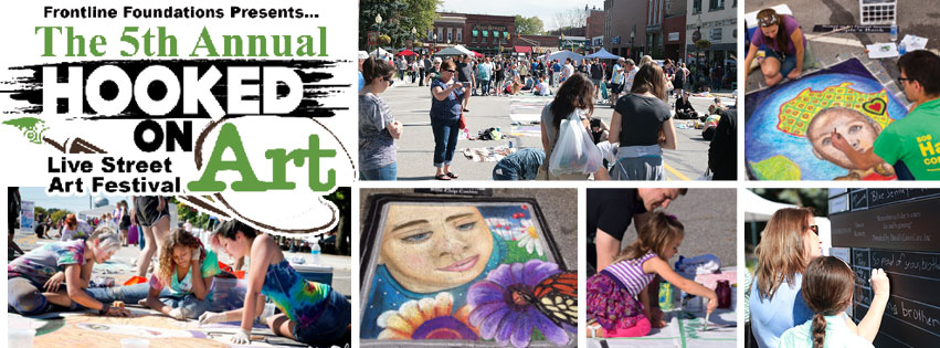 September 12th Deadline Approaches for Student Artists to Compete at 5th Annual Hooked on Art Festival