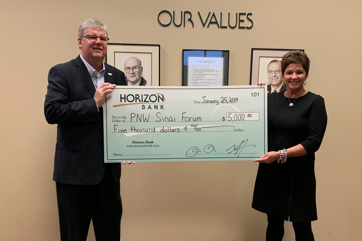 Horizon Bank Awards Grant to Purdue University Northwest Sinai Forum
