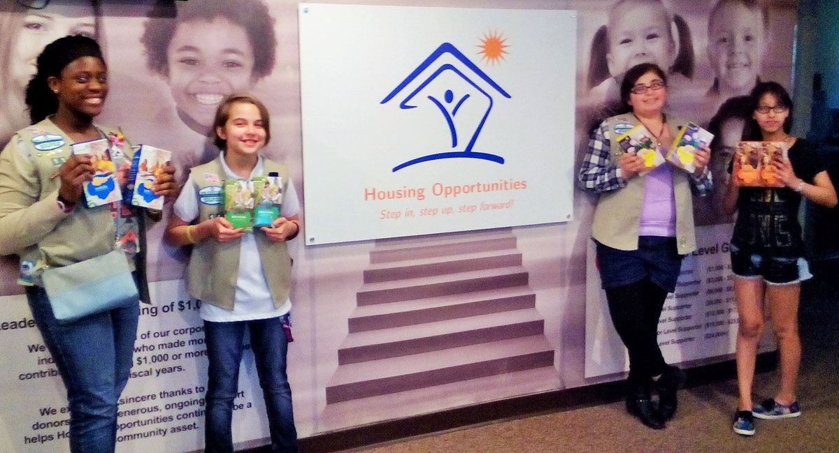 Housing-Opportunities-Clients-Love-Girl-Scout-Cookies-Troop-11-donation