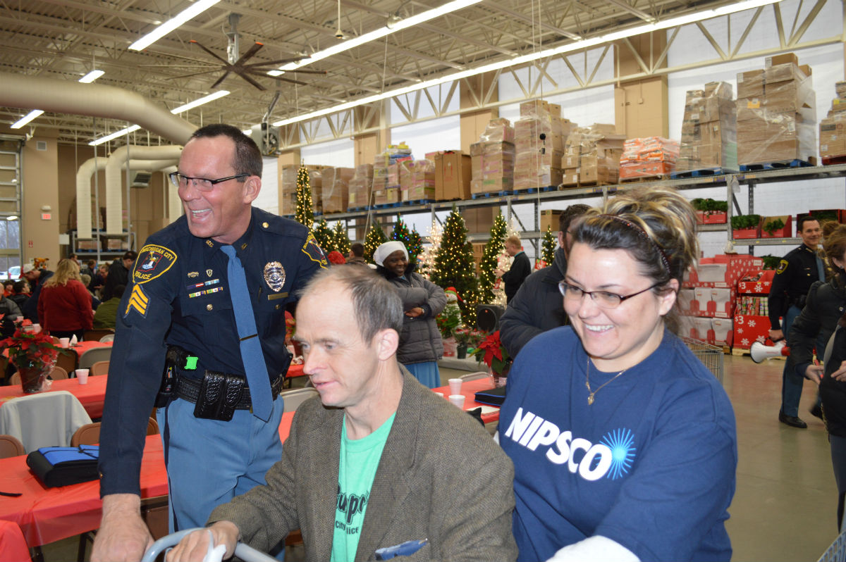 """Shop with Our Cops"" Christmas Program is the Gift That Keeps Giving"