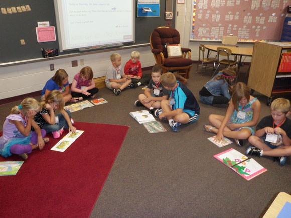 Indian Trail Students Love to Read