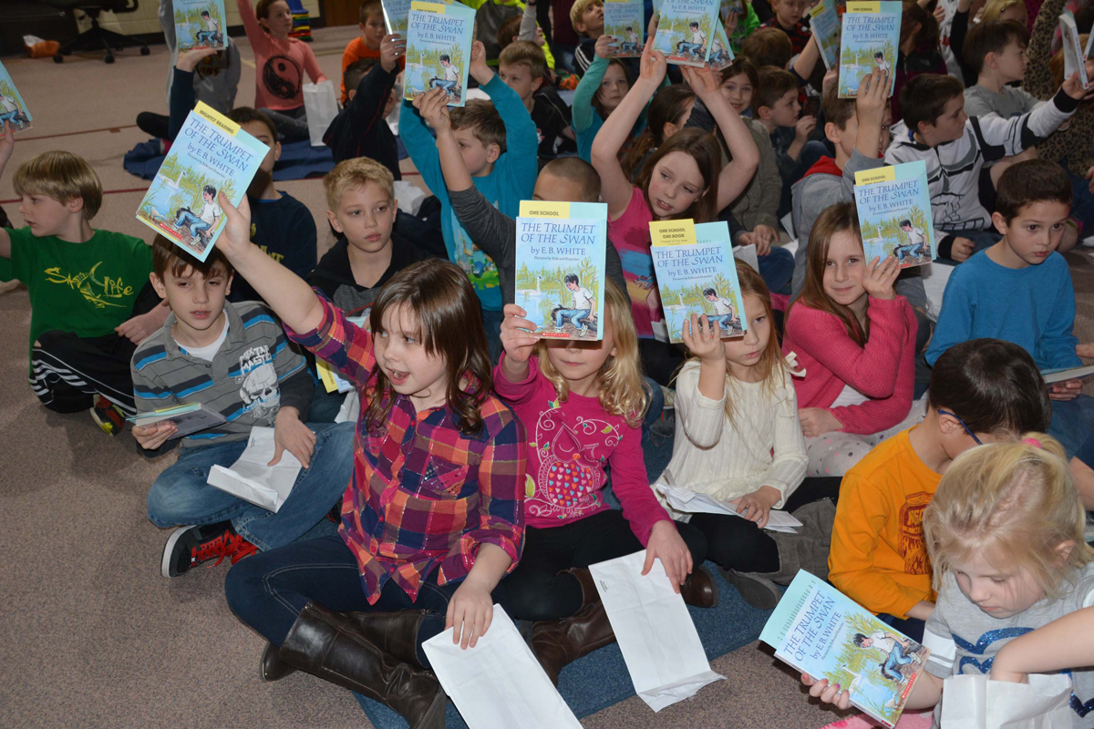 Jackson Elementary Announces 2016 Book Title