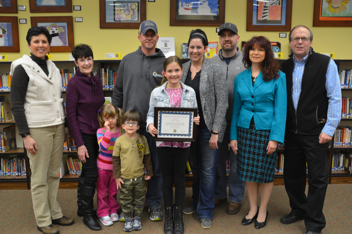 Jackson Elementary Announces 2016 Young Citizenship Award Winner