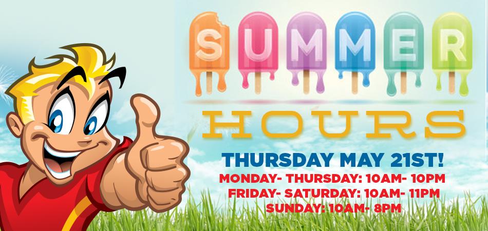 jaks summer hours
