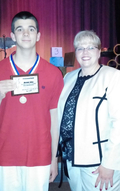 La Porte County Career & Technical Education Students Honored