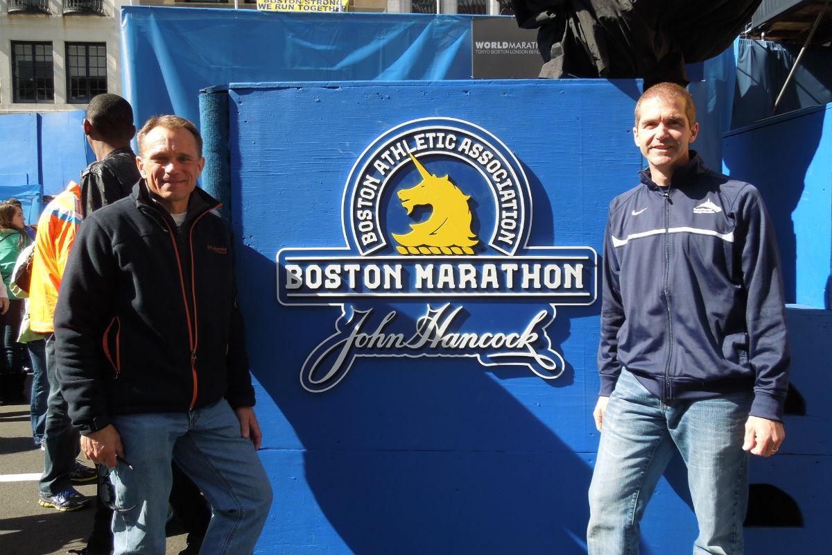 NWI Boston Marathon Runners