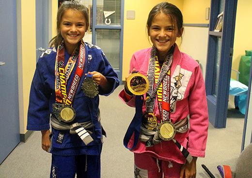 Kahler Middle School Students Learn Jujutsu