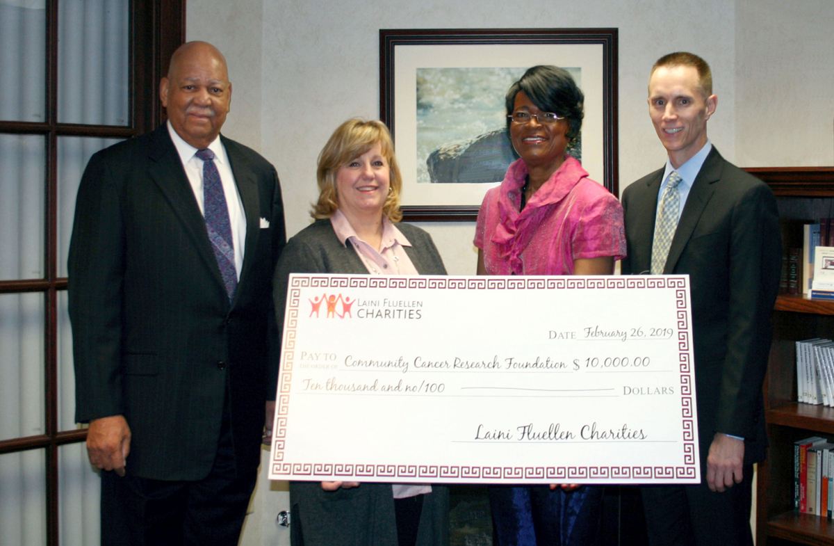 Laini-Fluellen-Charities-supports-local-research-for-triple-negative-breast-cancer