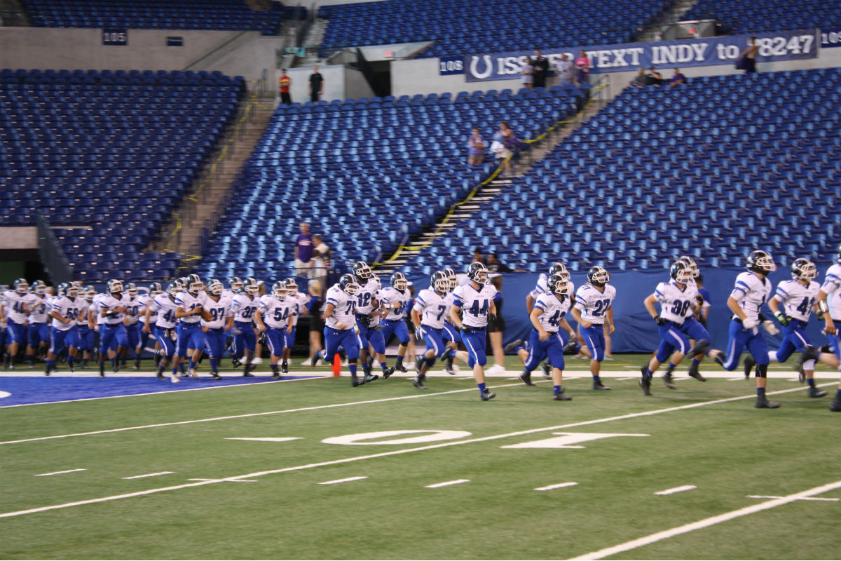 Portage and Lake Central Lived The Dream at Lucas Oil Stadium