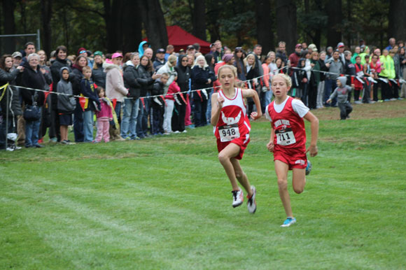 Lake, Porter Schools Battle It Out in Cross Country Meet
