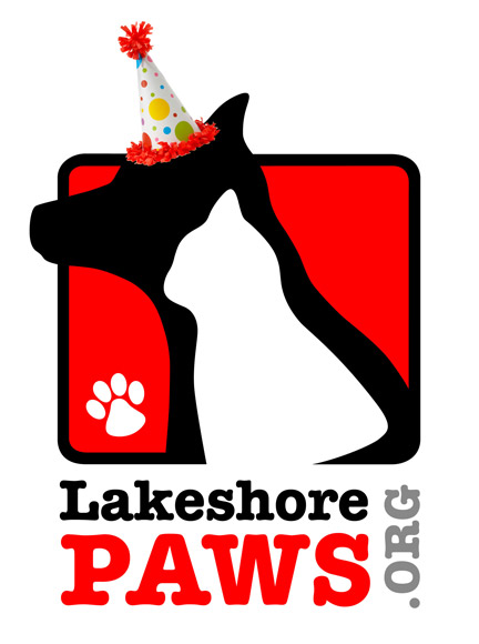Lakeshore-PAWS-Logo-Birthday-Hat