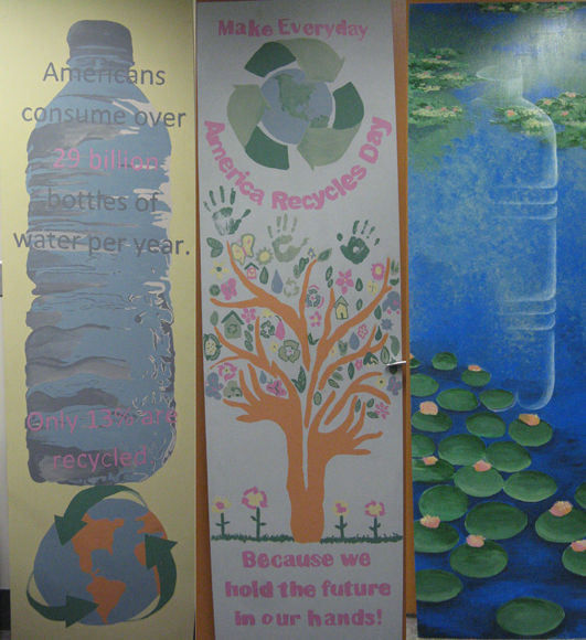Hebron High School Art Club Wins Recycled Latex Paint Contest