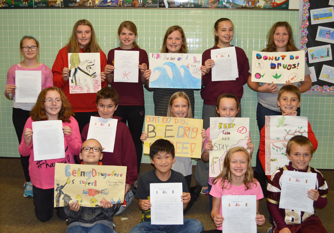 Liberty Intermediate School Announces 2015 Drug Free Essay and Poster Contest Winners