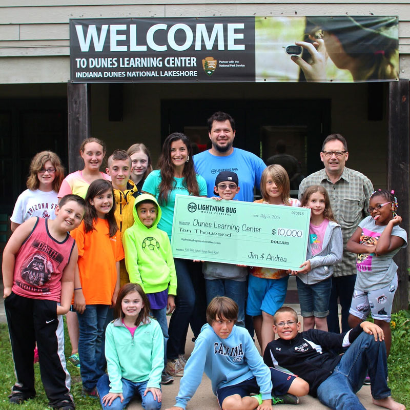 Lightning Bug Music Festival Raises $10,000 to Send Kids to Camp in 2015