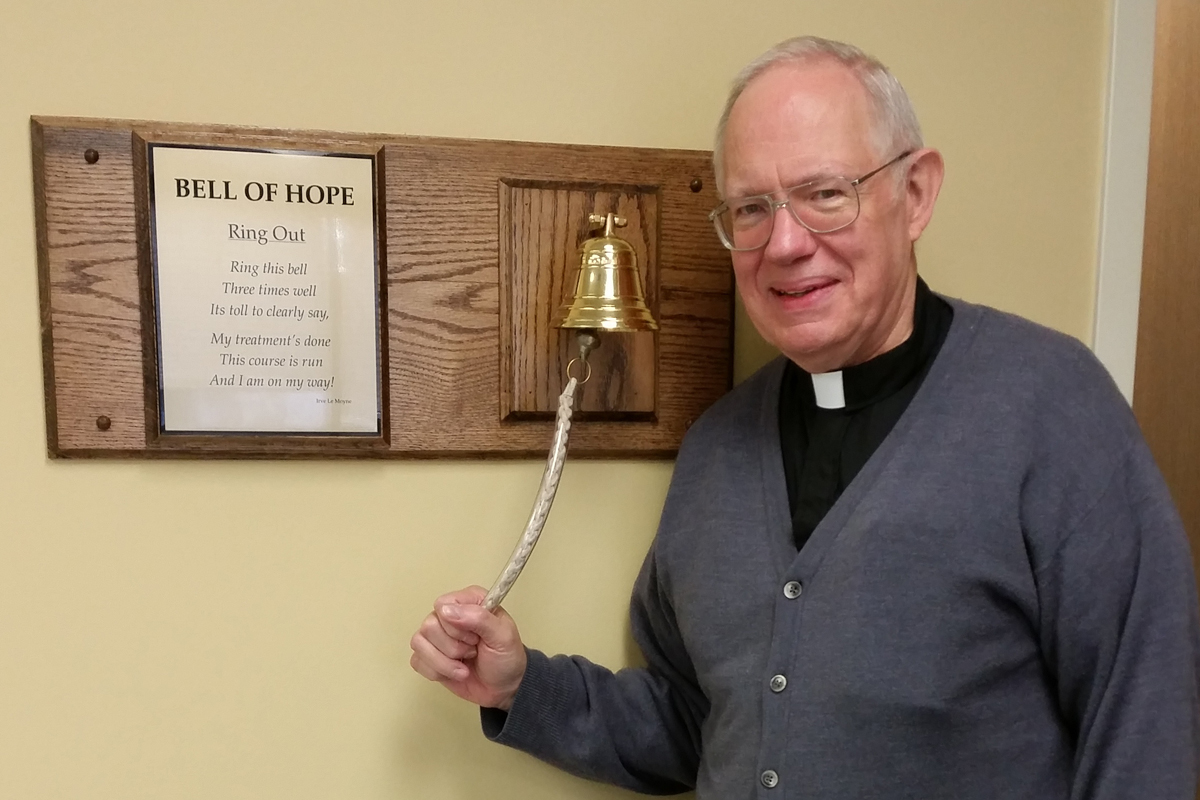Local-Pastor-Rings-Healing-Bell-at-La-Porte-Hospital-Wound-Care-Center