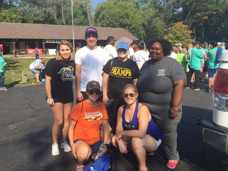 Local Public Relations Students Take Part In Walk For Multiple Sclerosis