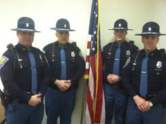 Lowell-District-Receives-Four-New-Troopers-01-05-15