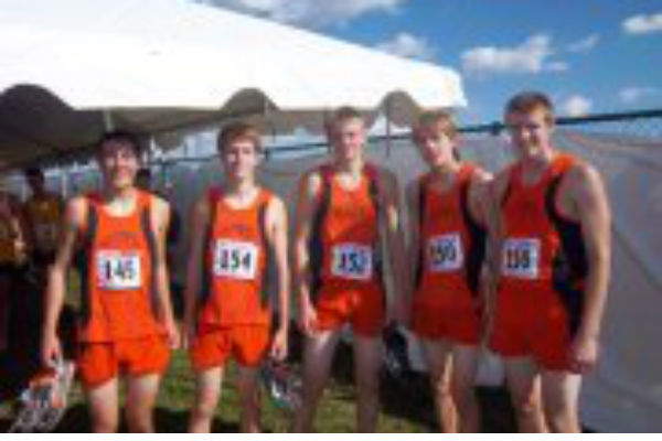 La Porte's Mitch Hubner Places Second in State Cross Country Meet