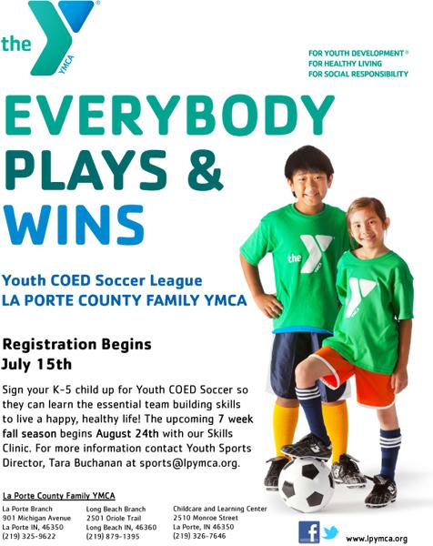 La Porte YMCA Summer COED Soccer League