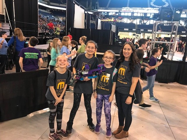 MacRobotics Wins Big at 2018 VEX IQ State Championship