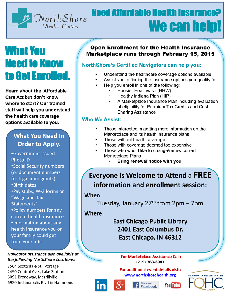 Marketplace Events - 2015 East Chicago Public Library January 27