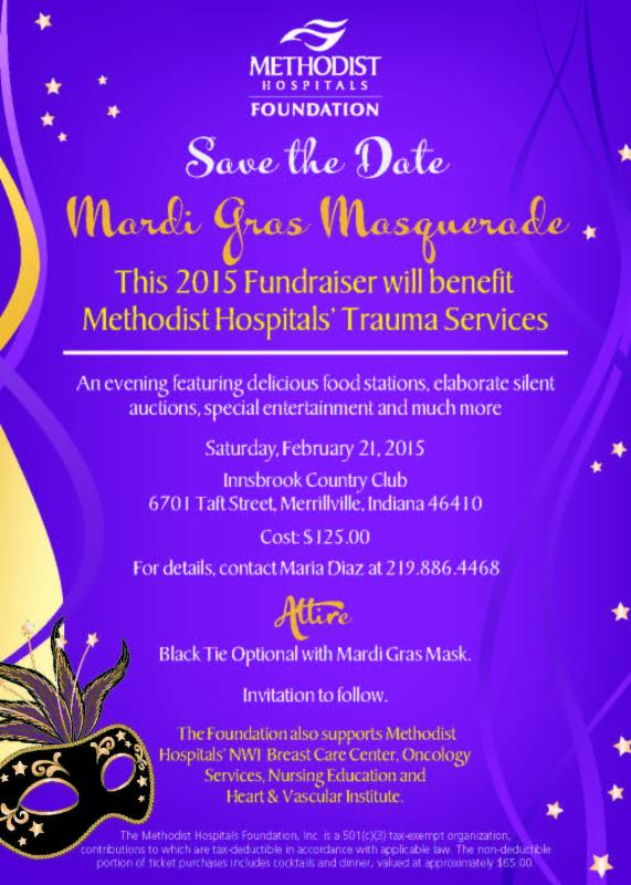 Save the Date for the Mardi Gras Masquerade