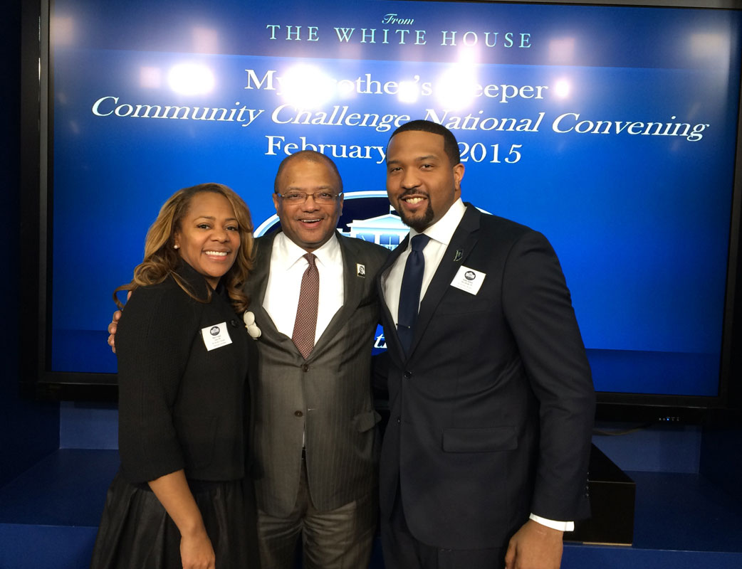 Gary Leaders Participate in My Brother's Keeper Convening at the White House