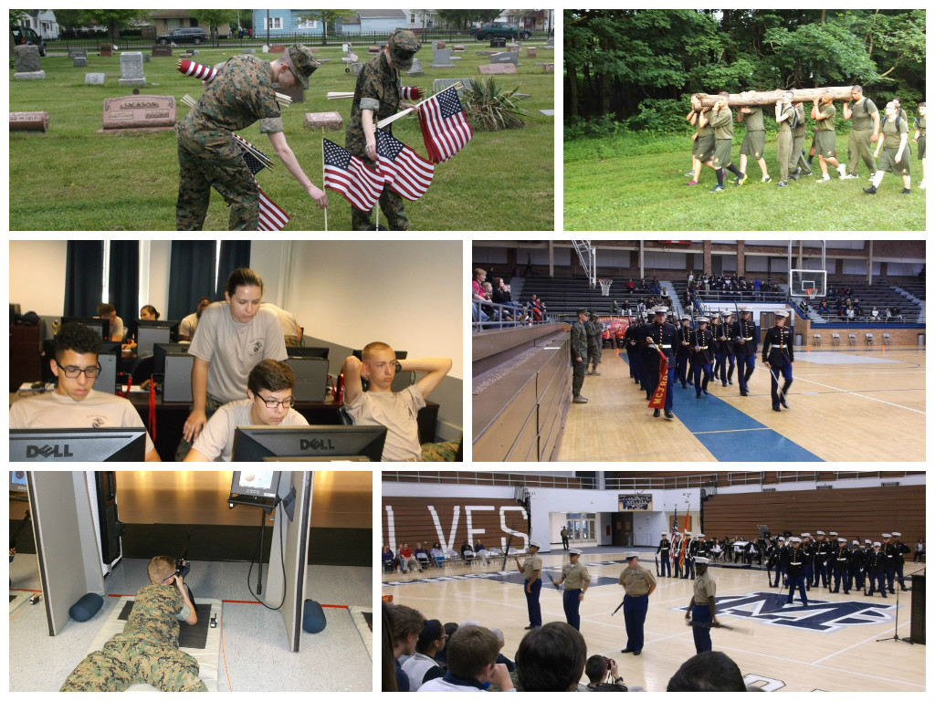 MCHS-MCJROTC-Attends-Earns-2015-National-Honor