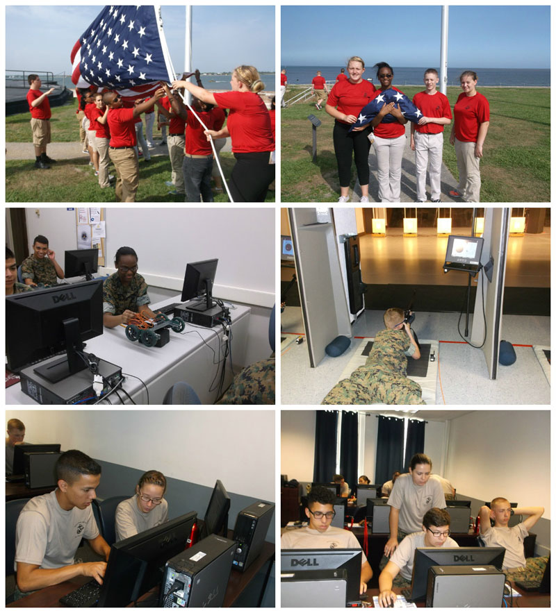 MCHS-MCJROTC-STEM-Collage-2015