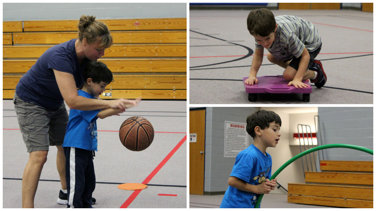 Adaptive P.E. Allows Students to Soar at Homan Elementary
