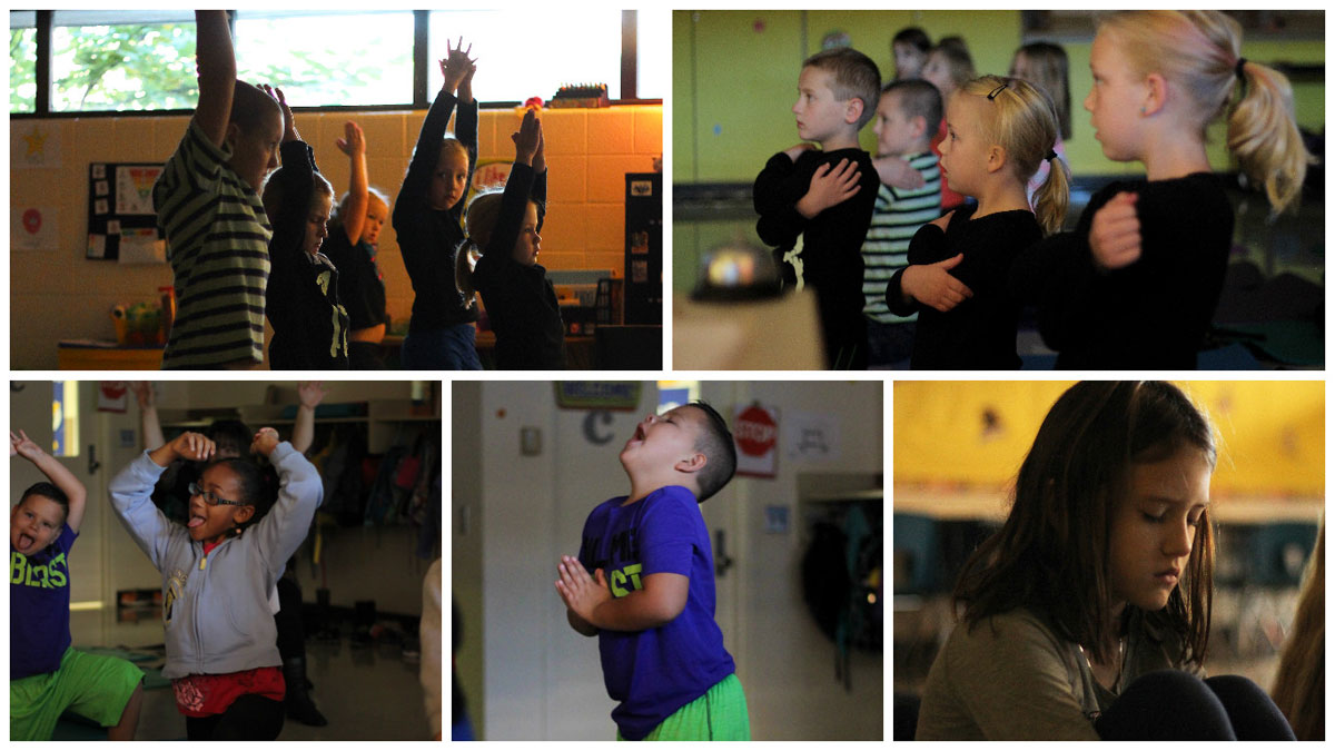 Watson Students Benefit from Yoga for Kids Before-School Progam